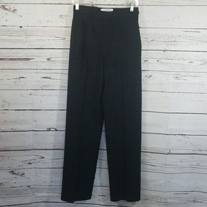 MAXMARA DARK GRAY WOOL PANTS